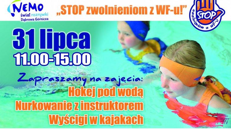 W Nemo - Wodny Świat przekonamy się jak ciekawe może być uprawianie sportu (fot. mat. organizatora)