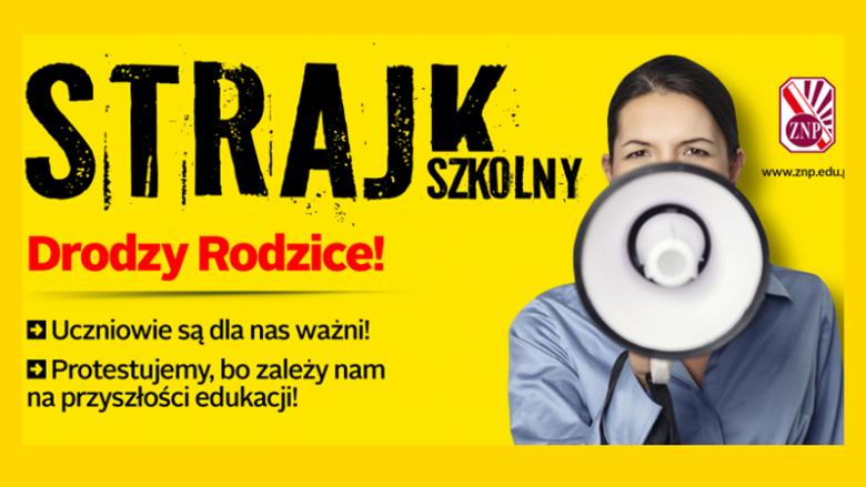 Jeśli nie dojdzie do konsensusu między ZNP a stroną rządową, strajk nauczycieli odbędzie się 8 kwietnia (fot. mat. ZNP)