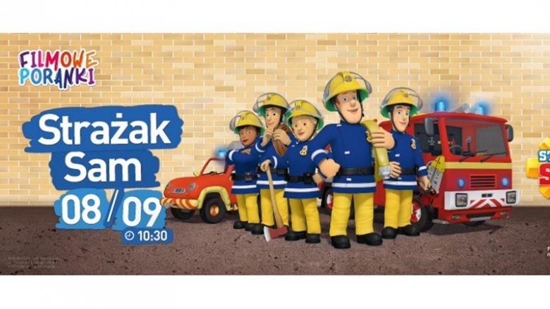 Przed seansem dzieci spotkają się z prawdziwymi strażakami (fot. mat. kina)