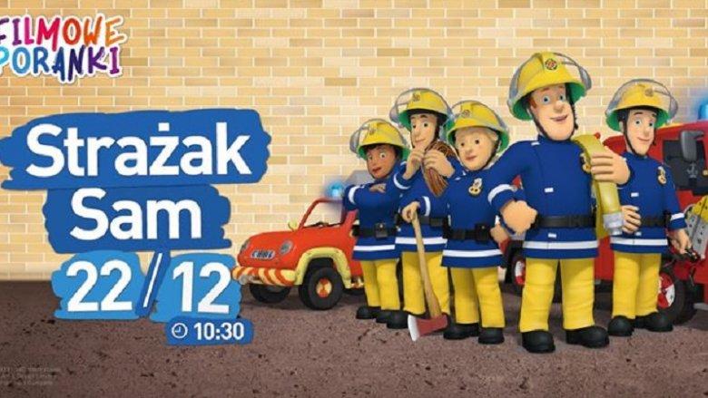 Seans to również spotkanie z prawdziwymi strażakami (fot. archiwum Fb Helios dla Dzieci)