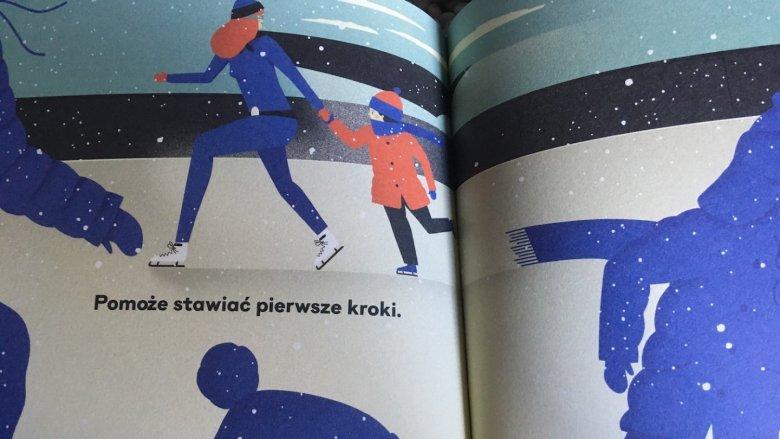 """Książka pt. """"Super M"""" wydawnictwa Babaryba to świetna propozycja dla kilkulatków (fot. Ewelina Zielińska/SilesiaDzieci.pl)"""