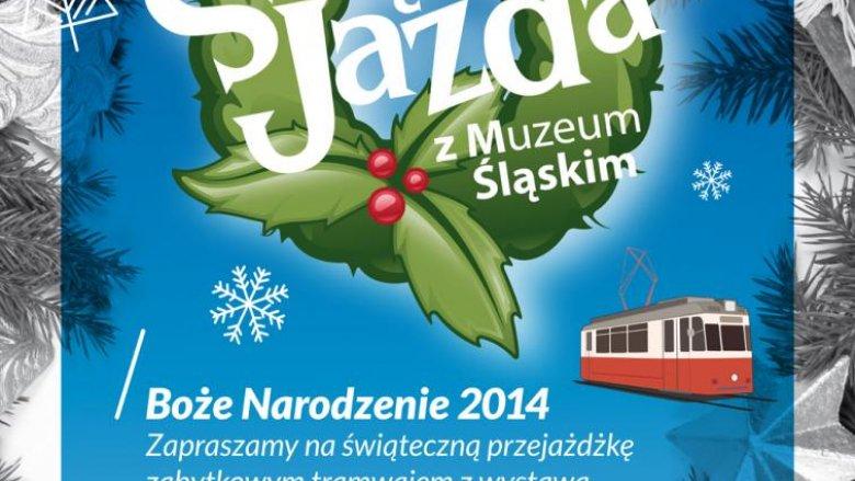 Świąteczny tramwaj będzie kursował do 6 stycznia (fot. mat. organizatora)