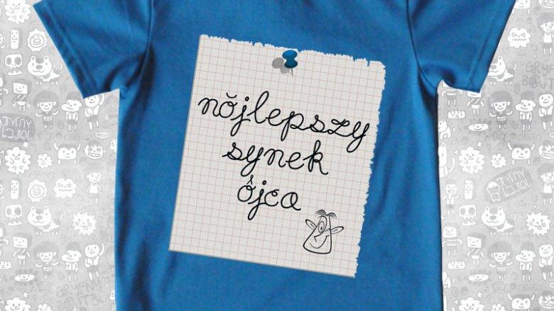 Coraz większą popularnością cieszą się t-shirty ze śląskimi napisami (fot. materiały gryfnybajtel.pl)