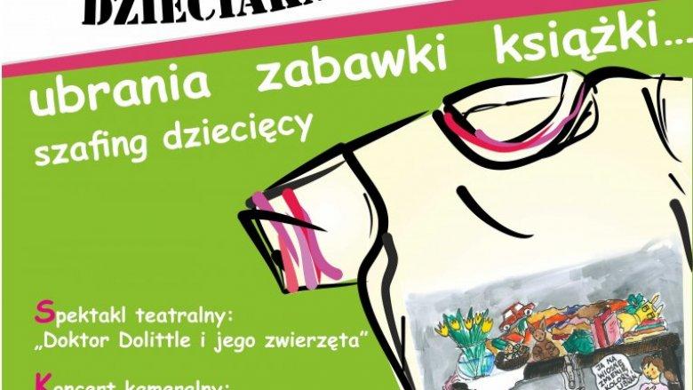 """""""Szafa dzieciaka"""" to nie tylko kiermasz. To mnóstwo atrakcji dla dzieci i rodzin (fot. mat. organizatora)"""