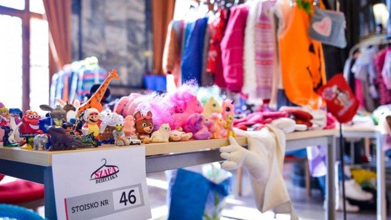 """""""Szafa dzieciaka"""" to nie tylko kiermasz, ale rodzinne wydarzenie pełne atrakcji dla dzieci (fot. mat. organizatora)"""
