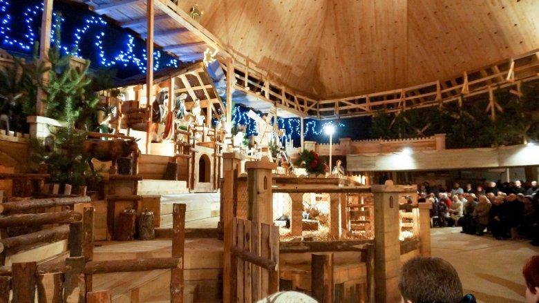 Tyską żywą szopkę można oglądać od 25 grudnia do 7 stycznia (fot. Paweł Latos)