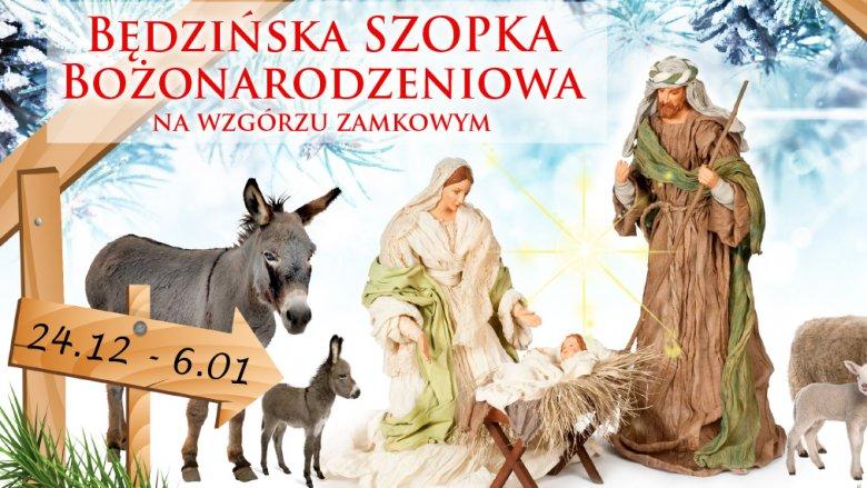 Żywą szopkę w Będzinie oglądać można do 6 stycznia (fot. mat. organizatora)