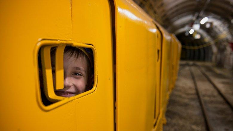 Trasa rodzinna w kompleksie Sztolni Królowa Luiza, to duża atrakcja zarówno dla dzieci, jak i rodziców (fot. mat. organizatora)