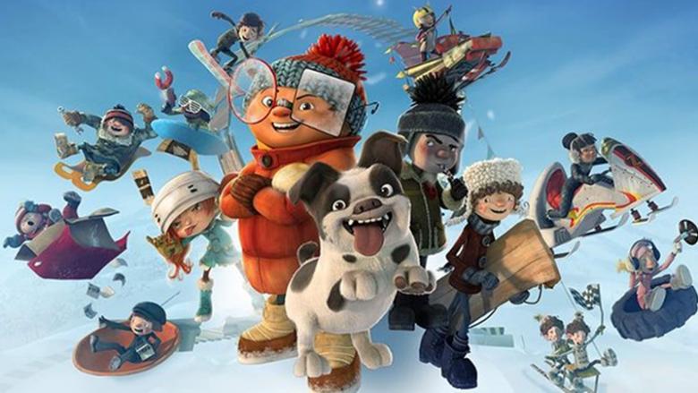 """W Światowidzie będzie można obejrzeć zabawny film """"Szybcy i śnieżni"""" (fot. mat. organizatora)"""