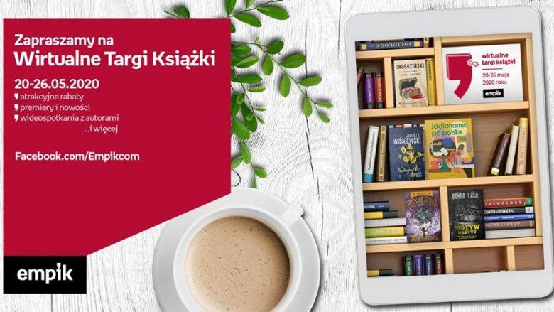 1. Wirtualne Targi Książki odbędą się w dniach 20-26 maja (fot. mat. organizatora)