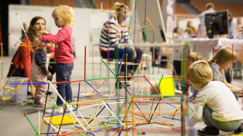 W strefie zabawy maluchy będą mogły skorzystać z licznych, bezpłatnych zajęć (fot. mat. organizatora)
