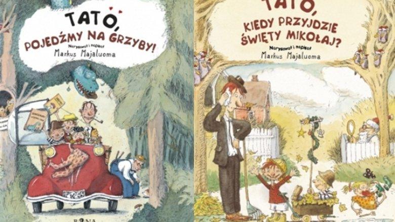 Wydawnictwo Bona wydało serię książek o tacie (fot. materiały usmesmake.pl)