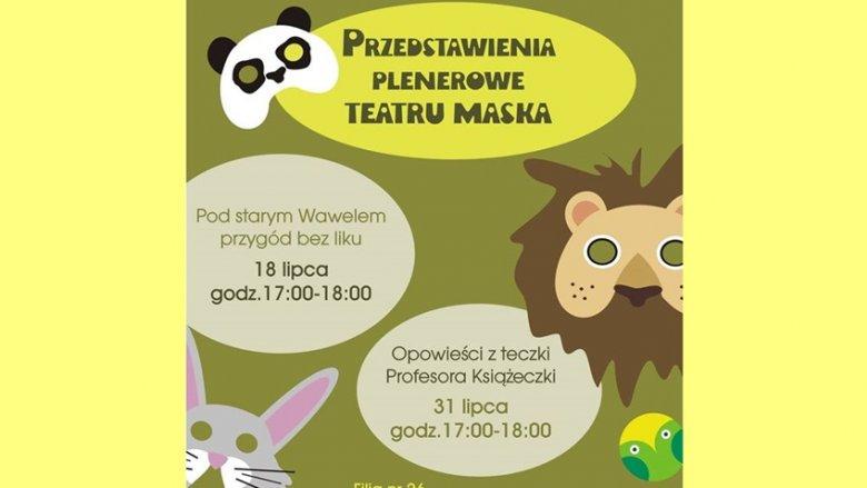Filia nr 26 MBP przygotowała dla dzieci plenerowe przedstawienia w wakacje (fot. mat. organizatora)