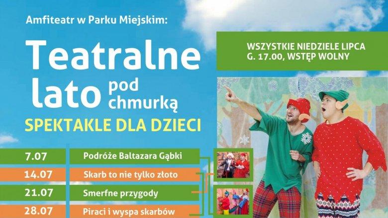 Spektakle będą wystawiane na deskach siemianowickiego amfiteatru w każdą niedzielę lipca (fot. mat. organizatora)