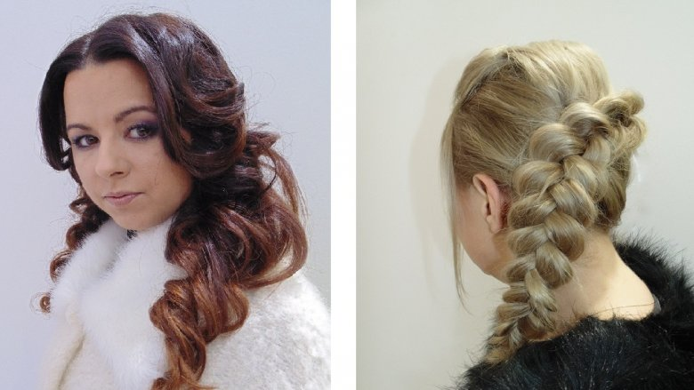 Wyjątkową stylizację tworzy przede wszystkim ubranie, ale ważne są też dodatki i fryzura (fot. mat.Trendy Hair Fashion)
