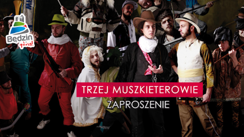 """Zaproszenia na """"Trzech Muszkieterów"""" można odebrać w odpowiednim wydziale Urządu Miasta w Będzinie (fot. mat. organizatora)"""
