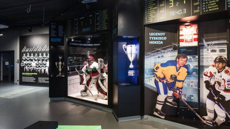 Dodatkowym atutem zajęć w Tyskiej Galerii Sportu jest możliwość obejrzenia zbiorów Galerii (fot. mat. TGS)