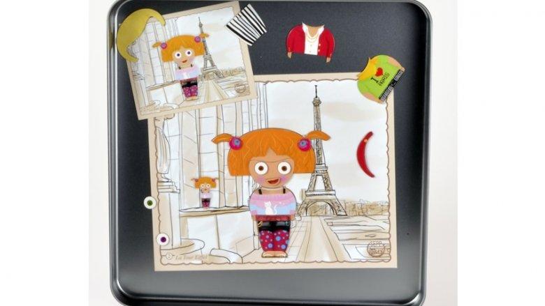 """""""Lilli w Paryżu"""" to kolejna propozycja firmy iOTOBO. Można ją kupić na stronie: sklep.placfrancuski.pl( fot. mat. sklepu)"""