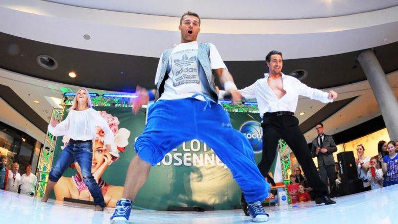 Właścicielem szkoły Tito Dance Studio jest Rafał TITO Kryla - finalista pierwszej edycji programu You Can Dance, uczeń Wade'a Robson'a (fot. mat. TDS)