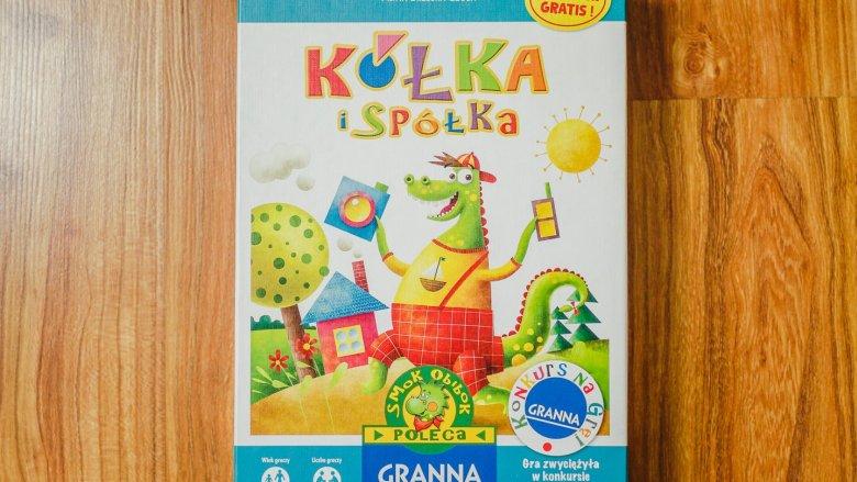 """""""Kółka i Spółka"""" to gra wydawnictwa Granna dla dzieci od 4 do 7 lat (fot. Ewelina Zielińska)"""