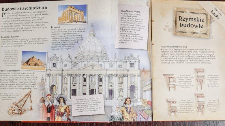 W książce znajdziemy opis i modele pięciu przełomowych wynalazków (fot. Ewelina Zielińska)