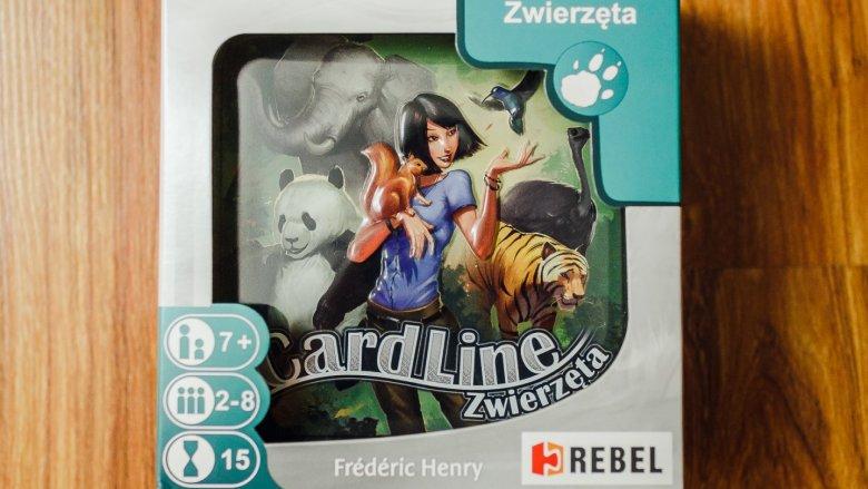 Cardline to prosta gra karciana o zwierzętach (fot. Ewelina Zielińska)
