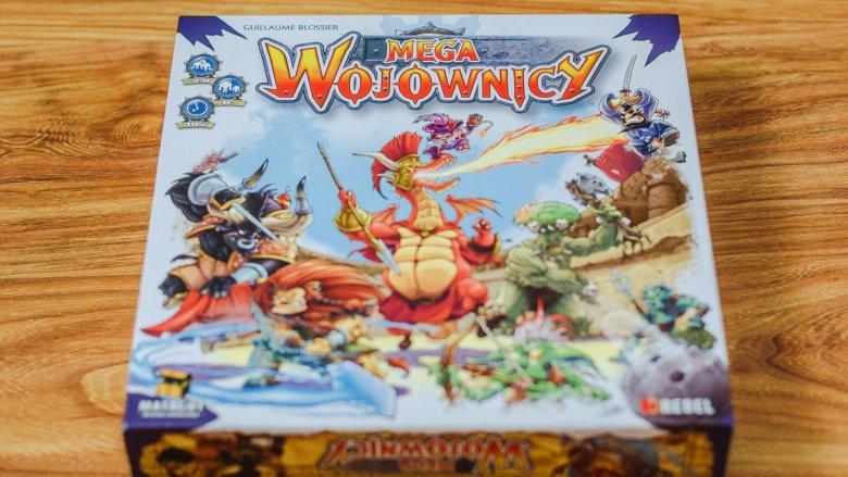 """""""Megawojownicy"""" to dynamiczna gra wydawnictwa REBEL (fot. Ewelina Zielińska)"""