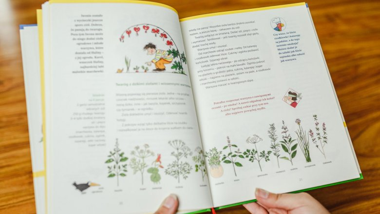 Poza przepisami znajdziemy w niej mnóstwo ciekawostek i ilustracji (fot. Ewelina Zielińska)