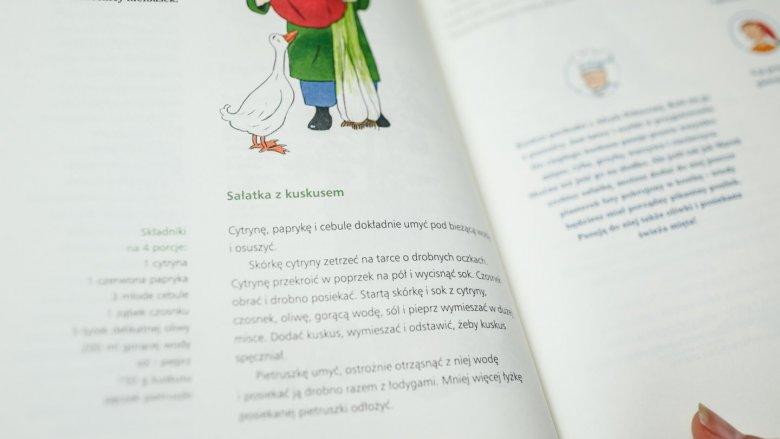 Przepisy zawarte w książce są inspirujące, a przede wszystkim zdrowe (fot. Ewelina Zielińska)