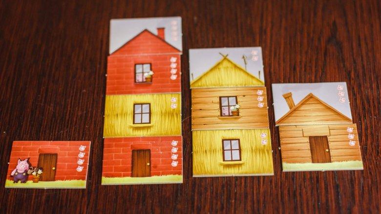 Zasady budowania domków są proste, ale jednocześnie pozostawiają graczom wiele możliwości (fot. Ewelina Zielińska)
