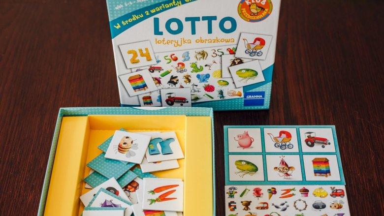 Loteryjka obrazkowa pozwala dzieciom na trening spostrzegawczości (fot. Ewelina Zielińska)