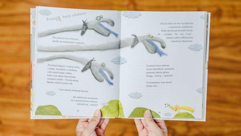 Opowiadania przeplatane są wierszami o ekologicznej tematyce (fot. Ewelina Zielińska)