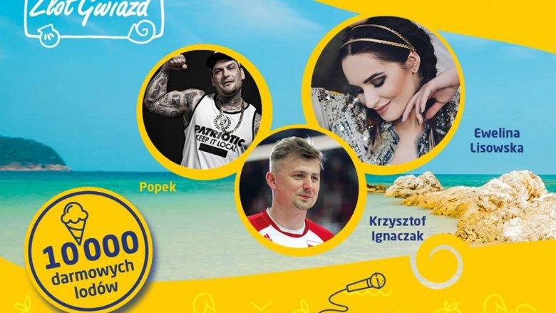 Ewelina Lisowska, Popek Monster i Krzysztof Ignaczak będą bawić uczestników imprezy zorganizowanej przez RMF FM (fot. mat. organizatora)