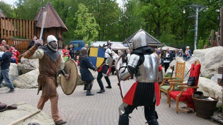 Pokazy walk rycerskich zawsze budzą emocje (fot. materiały organizatora)