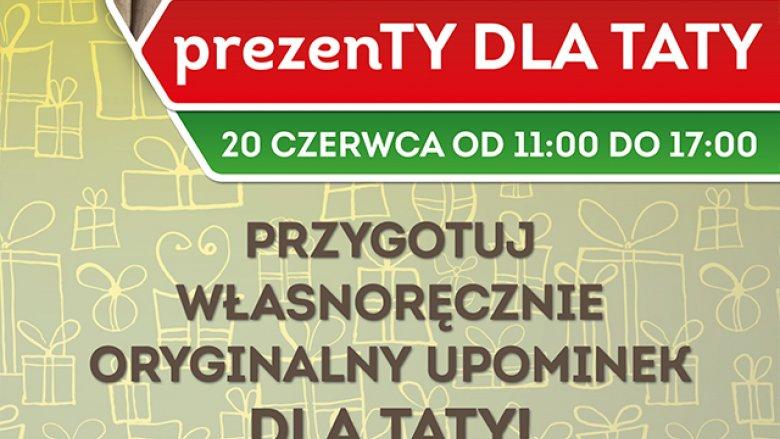 CH Auchan Sosnowiec zaprasza na warsztaty tworzenia upominków na Dzień Ojca (fot. mat. organizatora)
