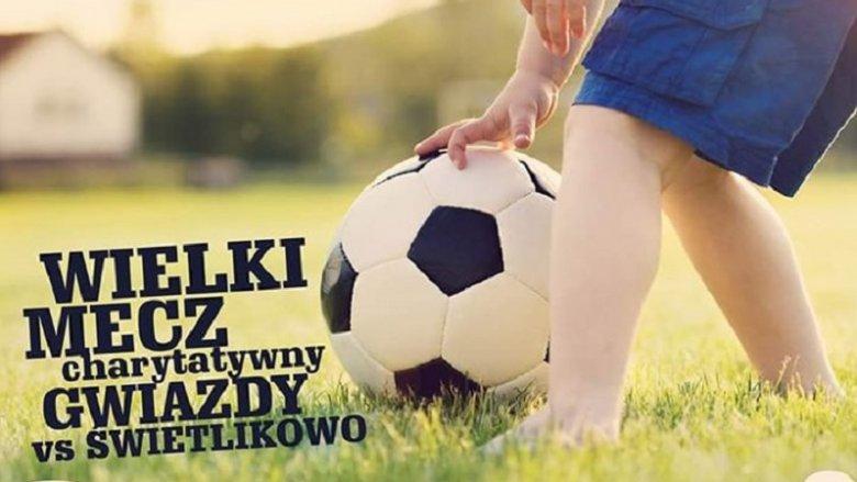 Podczas meczu odbędzie się licytacja charytatywna (fot. mat. organizatora)