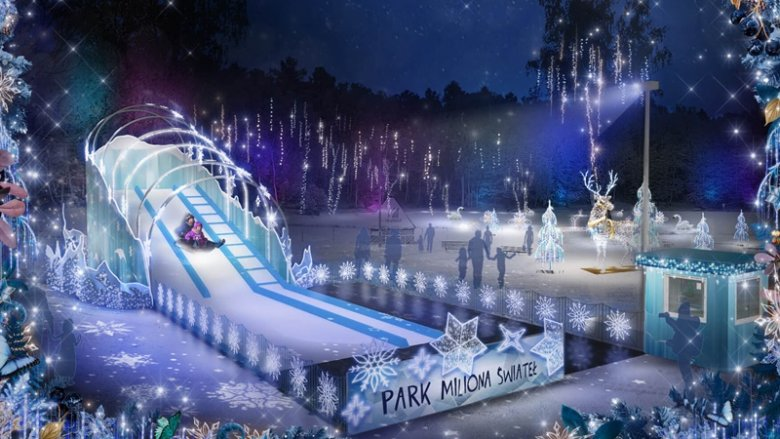 Wizualizacja - Park Miliona Świateł (fot. mat. organizatora)