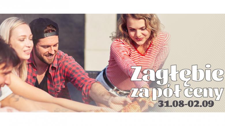 """Akcja """"Zagłębie za pół ceny"""" potrwa od 31 sierpnia do 2 września (fot. mat. organizatora)"""