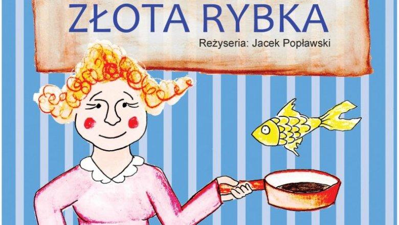 """""""Złota rybka"""" to spektakl w wykonaniu katowickiego Teatru Żelaznego (fot. mat. organizatora)"""