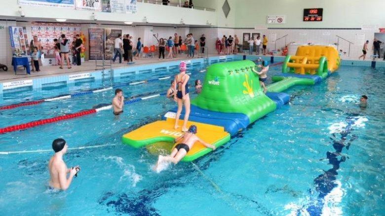 Pierwszy dzień wiosny można uczcić na basenie (fot. mat. organizatora)