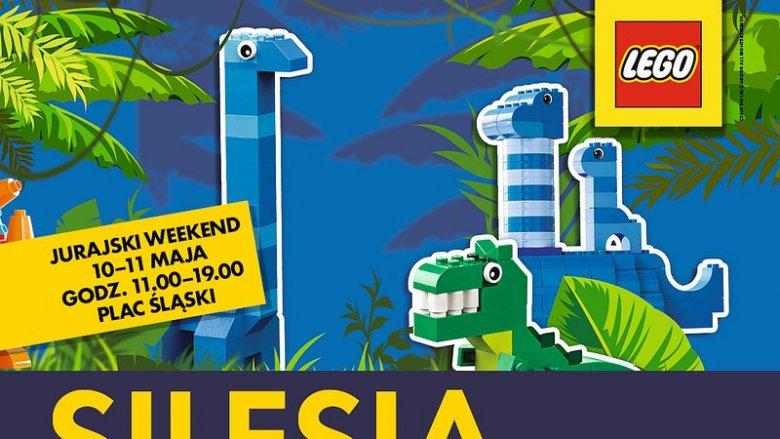 Prehistoryczna kraina klocków LEGO czynna będzie 10 i 11 maja (fot. mat. organizatora)