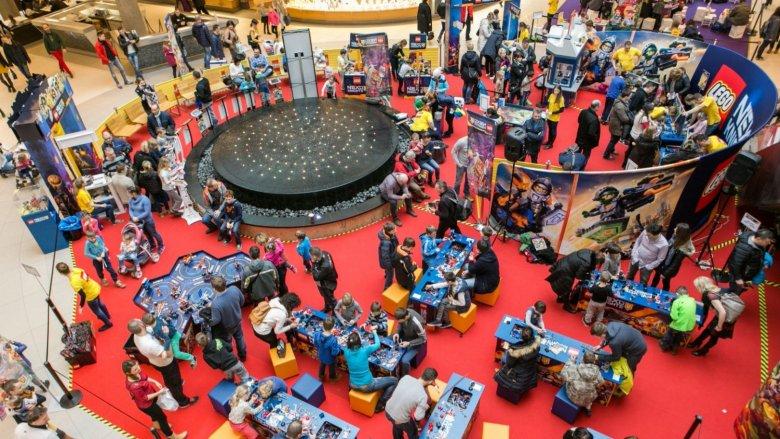 W weekend warto wybrać się z rodziną do Galerii Katowickiej, gdzie odbędzie się duża impreza LEGO Polska (fot. mat. organizatora)