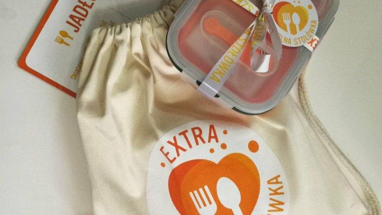 Zestaw śniadaniowy umili najmłodszym spożywanie zdrowych posiłków poza domem (fot. org. akcji Extra Szkolna Stołówka)