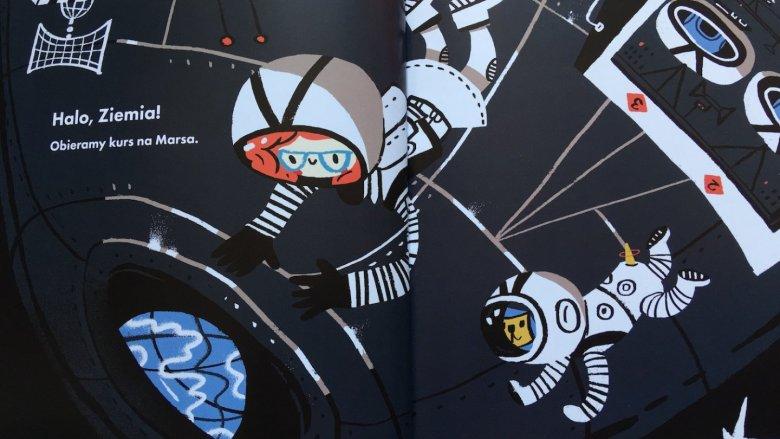 Jadzia i jej pies Pluto to bohaterowie naprawdę dobrej, niebanalnej książki (fot. Ewelina Zielińska/SilesiaDzieci.pl)
