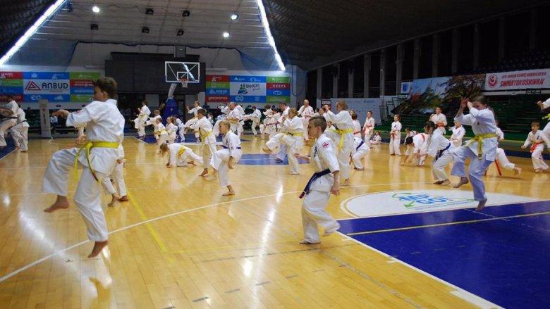 Całe rodziny mogą wziąć udział w zajęciach Sosnowieckiego Klubu Karate (fot. mat. organizatora)