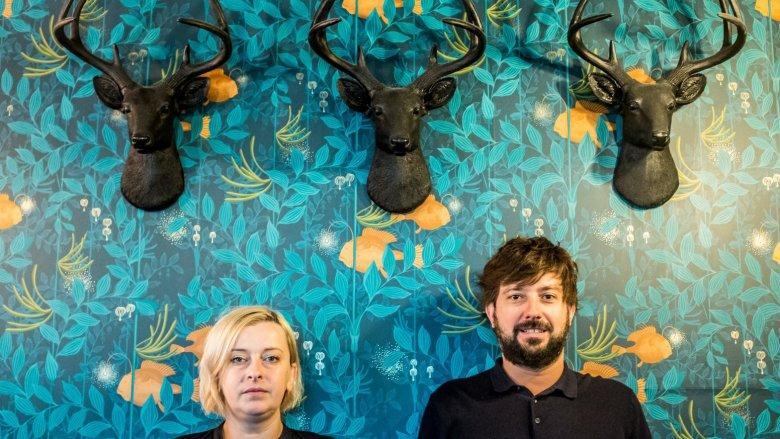 Inicjatorami charytatywnego gotowania są Kasia Rogowska i Przemek Błaszczyk (fot. mat. organizatora)