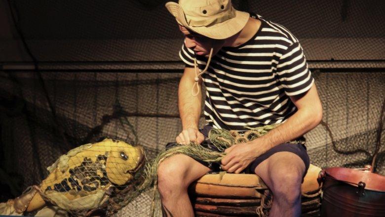 Teatr Żelazny prezentuje dobrze znaną historię w zupełnie innej odsłonie (fot. Teatr Żelazny)