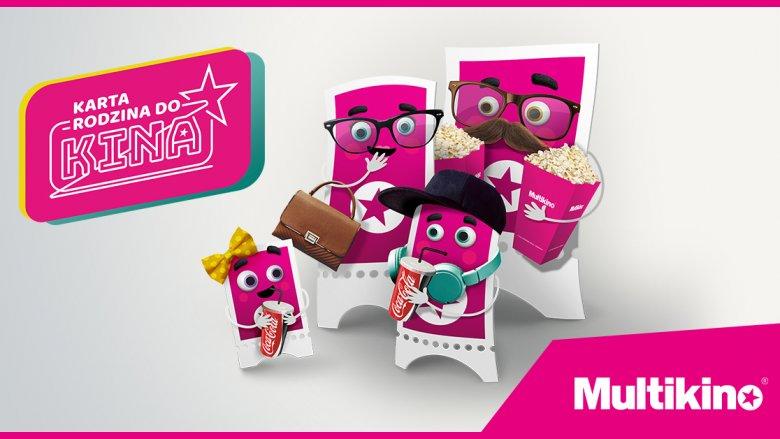 Z kartą Rodzina do Kina obowiązują zniżki na bilety, a także zniżki w kinowych barach i w Multishopie (fot. mat. organizatora)