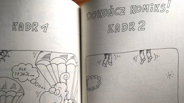 Pełne humoru ćwiczenia mogą stać się świetną zabawą dla każdego, kto szuka niebanalnej, twórczej i rozwijającej rozrywki (fot. Ewelina Zielińska/SilesiaDzieci.pl)