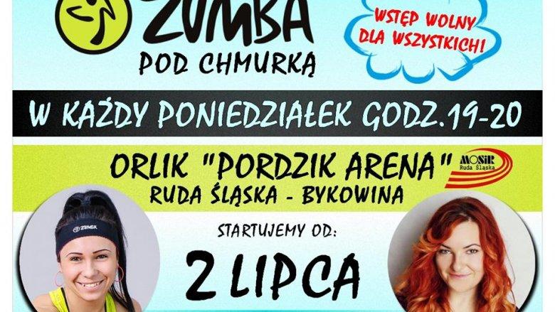 Zumba pod chmurką pozwoli zadbać o piękną sylwetkę i zapewni sporą dawkę dobrej zabawy (fot. mat. organizatora)